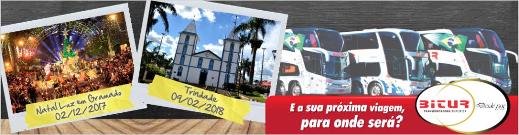 Anúncio Bitur - Viagens Em 2018.