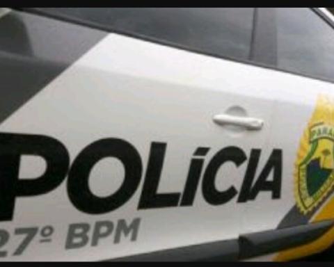Carro da Polícia Militar de União da Vitória