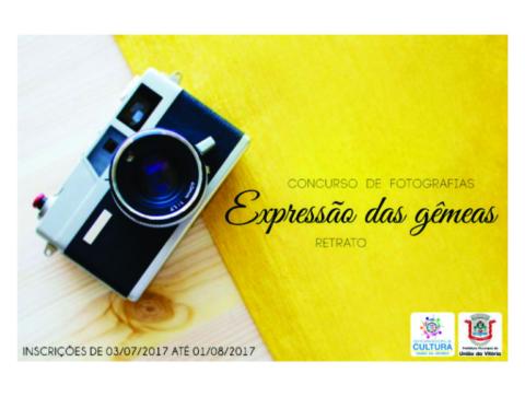 Divulgação do Concurso de Fotografia Expressão das Gêmeas