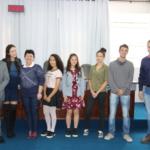 Representantes do Parlamento Jovem de Porto União