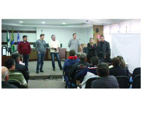 Reunião na Câmara de UV discute ciclofaixa na avenida Manoel Ribas