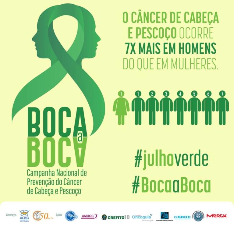 Divulgação Julho Verde: maior incidência da doença em homens