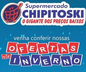 Anúncio Supermercado Chipitoski 300x250px