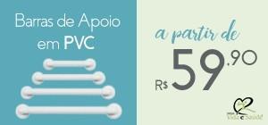 Anúncio Vida e Saúde - barra de PVC