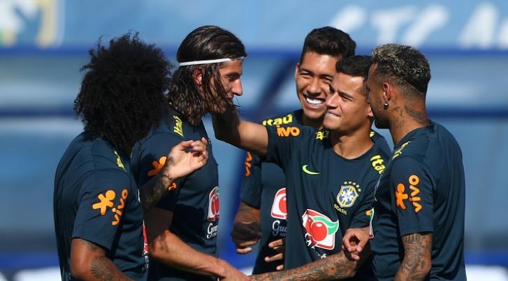 Copa 2018: Treino da Seleção Brasileira