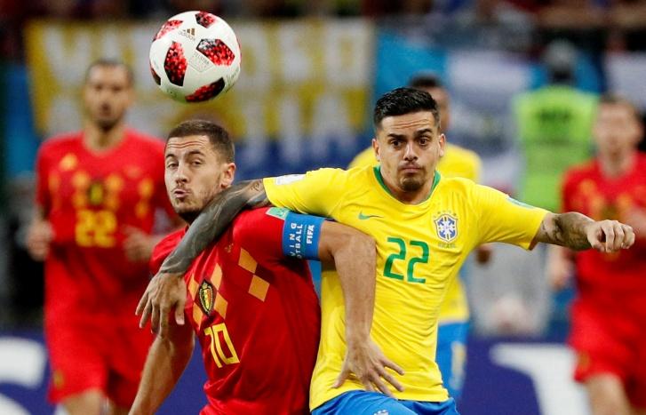 Copa 2018: Brasil x Bélgica