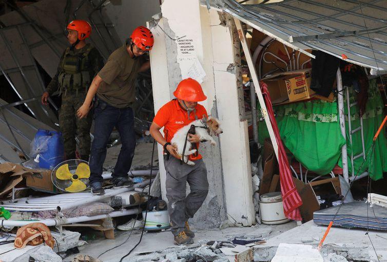Terremoto, FilipinasREUTERS/Eloisa Lopez