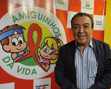 O desenhista Maurício de Souza